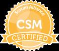 <p>Certified ScrumMaster (CSM)</p>