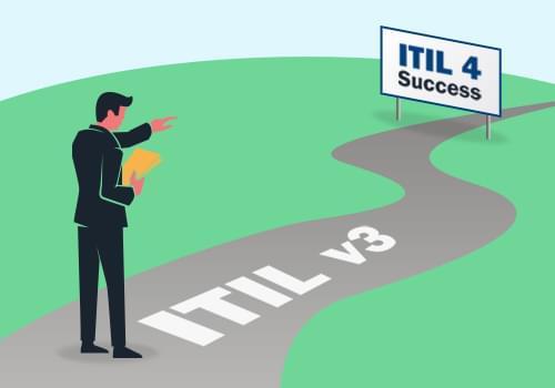 ITIL v3 to ITIL 4 transition