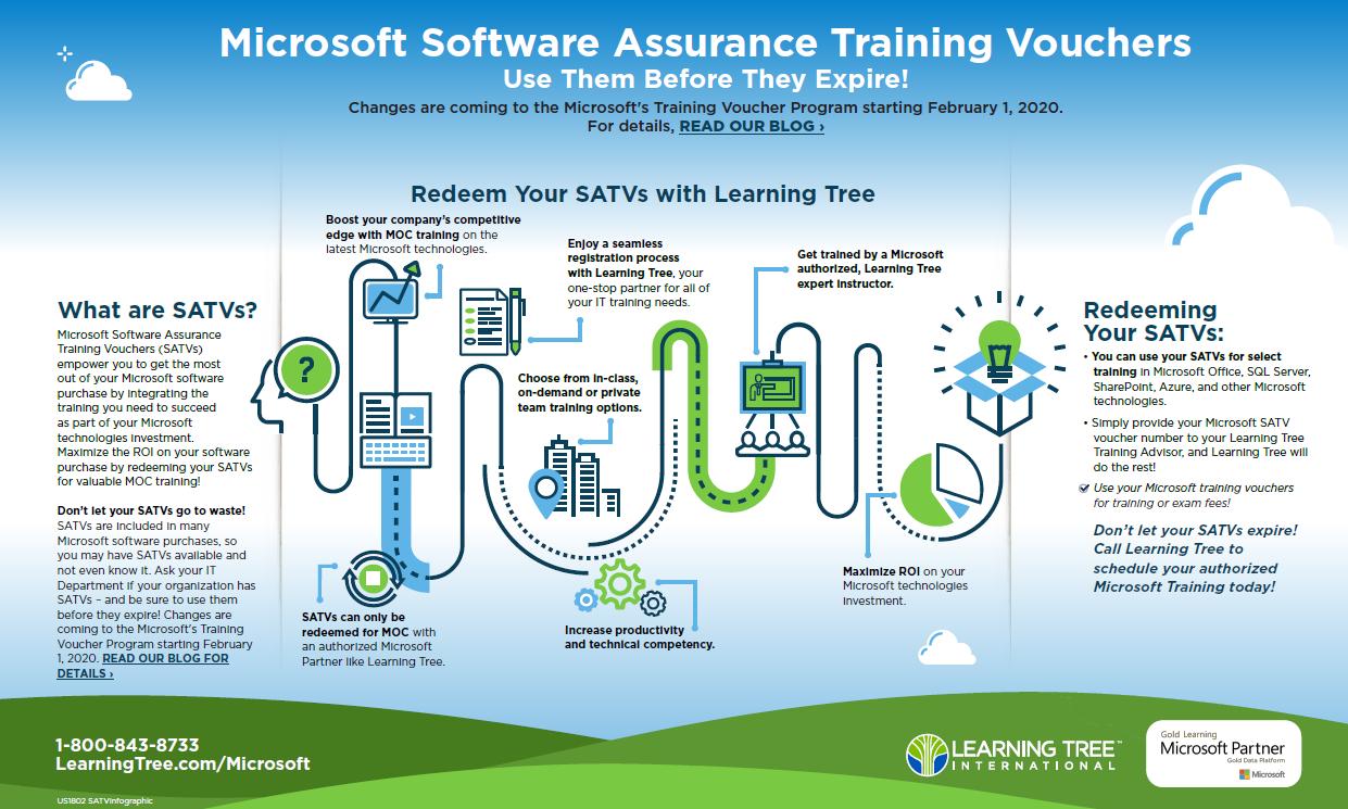 Microsoft SATVs Infographic