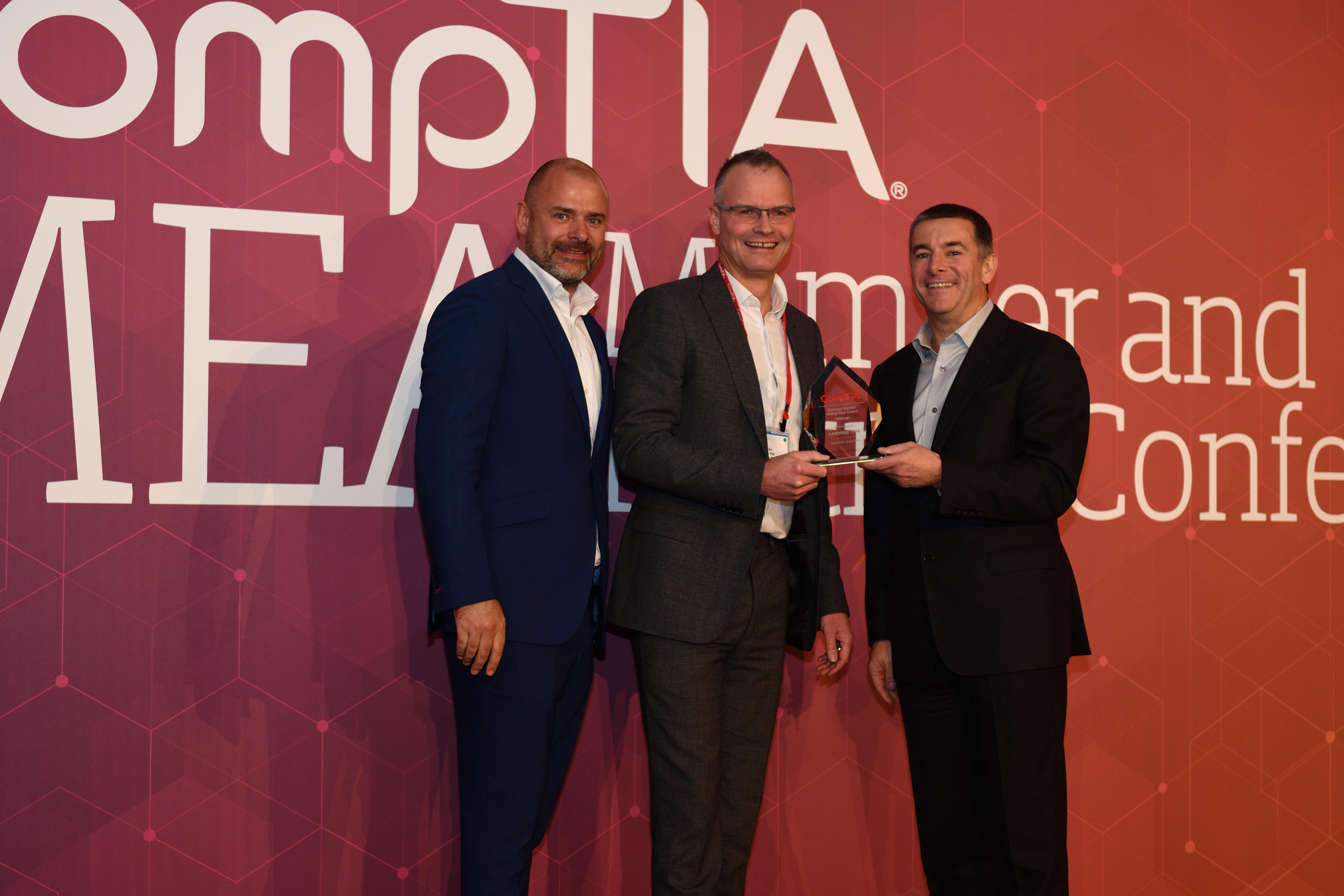 CompTIA EMEA Rising Star Award Ceremony