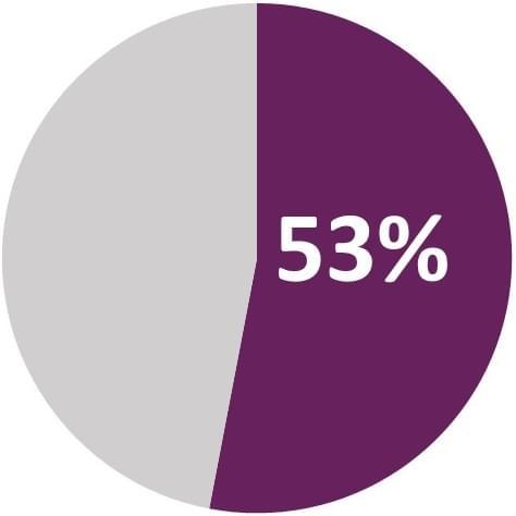 ITIL 53 percent chart