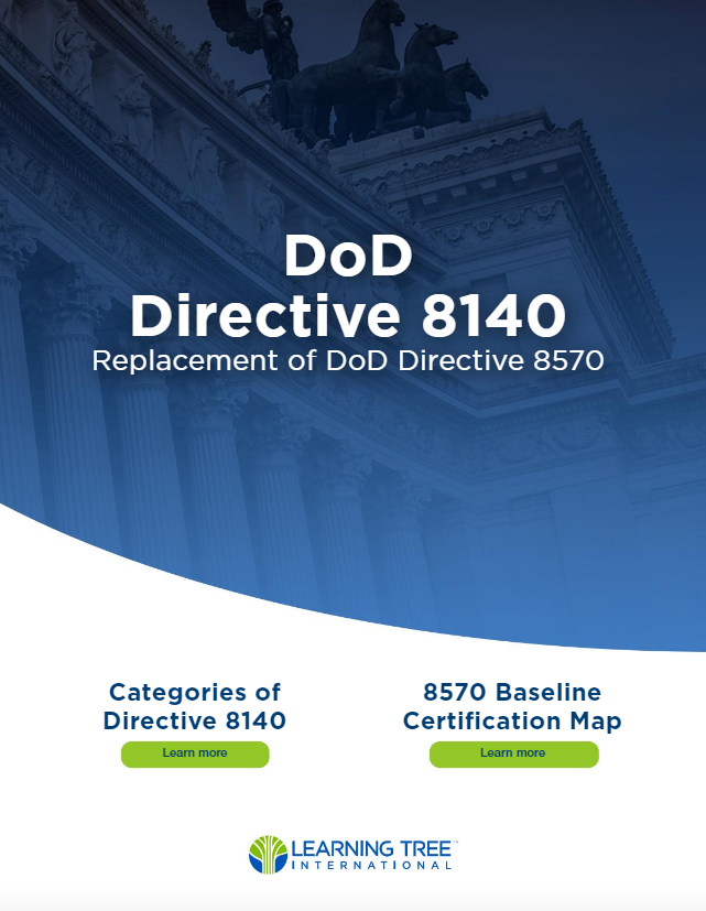 DoD 8140/8570 guide cover