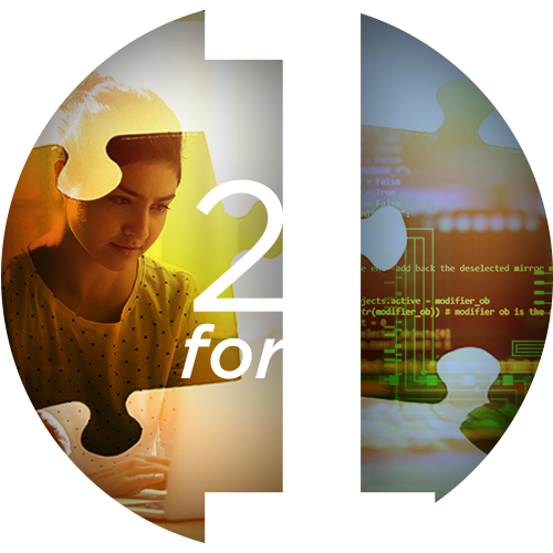Microsoft 2 for 1 Bundle Icon