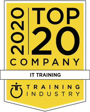 TrainingIndustry.com Top 20 IT Training Company Logo
